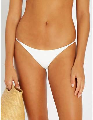 Frankie's Bikinis FRANKIES BIKINIS Willa ribbed bikini thong