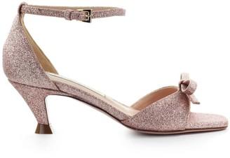 Roberto Festa Andalo Nude Pink Microstar Sandal