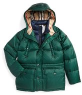 Burberry Petter Hooded Down Puffer Jacket (Little Boys & Big Boys)