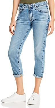 AG Jeans Slim-Leg Boyfriend Jeans