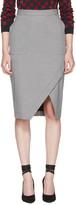 Altuzarra Black & White Gingham Wilcox Skirt