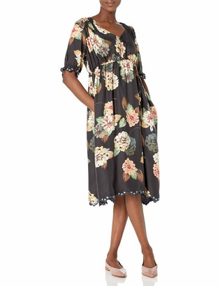 Johnny Was Women's Floral Printed midi Dress