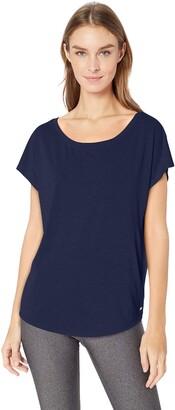 Amazon Essentials Women's Studio Short-Sleeve Lightweight Open-Back T-Shirt
