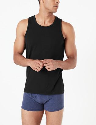 Marks and Spencer 3 Pack Sleeveless Vests