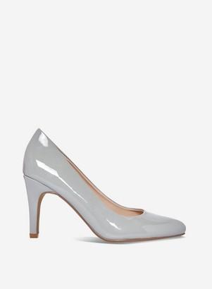 Dorothy Perkins Womens Grey 'Deedee' Comfort Court Shoes