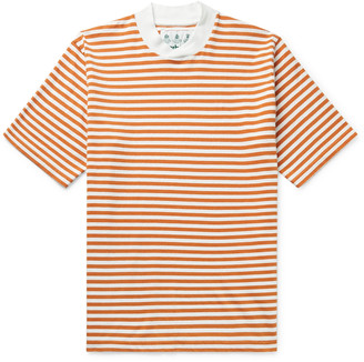 Barbour White Label Inver Striped Cotton-Jersey T-Shirt