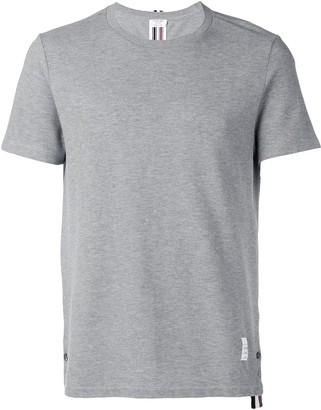 Thom Browne centre-back stripe pique T-shirt