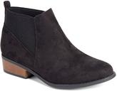 Wild Diva Black Eve Chelsea Boot