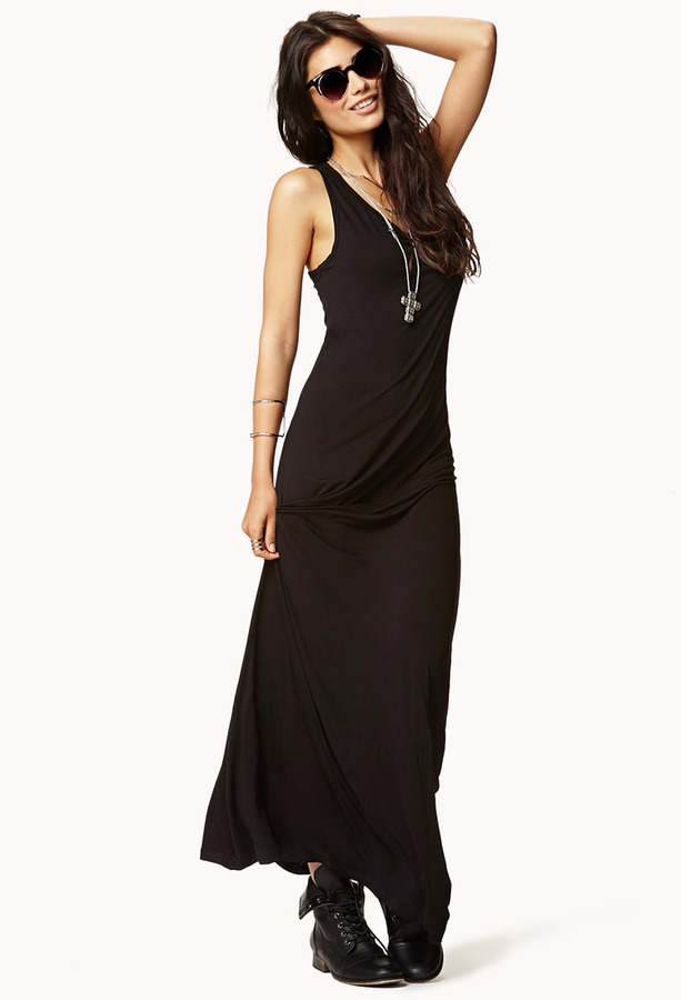 Forever 21 Knit Maxi Dress