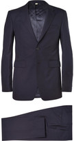 Burberry - Navy Slim-fit Wool Suit