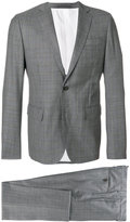 DSQUARED2 checked suit - men - Cotton/Polyester/Wool - 48