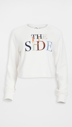 The Upside Faith Crop Crew Sweatshirt