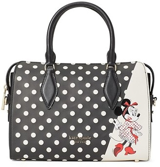 Kate Spade x Minnie Mouse Medium Satchel