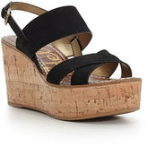 Sam Edelman Destiny Leather Platform Wedge Sandals