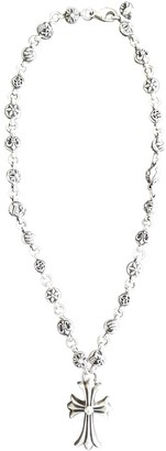 Chrome Hearts Silver Silver Long necklaces