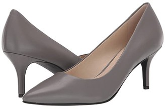 Cole Haan Marta Pump WP 65 mm (Quiet Shade WP Leather) Women's Shoes