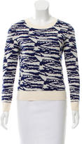 A.P.C. Wool Patterned Knit Top