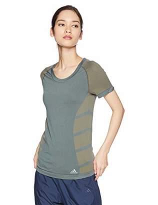 adidas Cru Tee Primeknit Women T-Shirt, Women, Womens, DS8834,L
