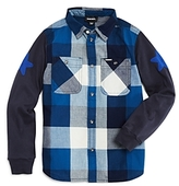 Diesel Boys' Civok Embroidered Shirt - Little Kid, Big Kid