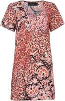 MinkPink Mink Pink Testament short sleeved pattern tee dress