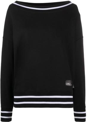 Versace Jeans Couture Applique-Logo Sweatshirt