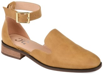 Journee Collection Loreta Ankle Buckle Flat
