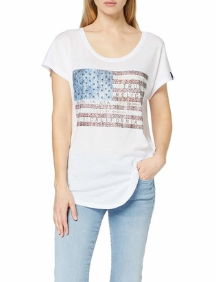 True Religion Women's American Relaxed fit Crewneck T Shirt