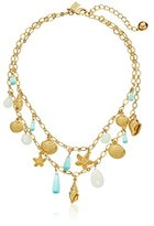 """Kate Spade Under The Sea Double-Strand Necklace, 16"""" + 3"""" Extender"""