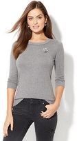 New York & Co. Waverly Crewneck Sweater