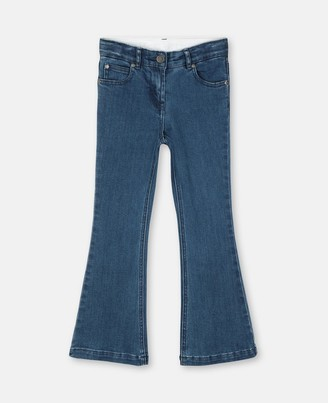 Stella McCartney skinny flare denim trousers
