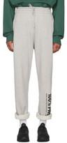 Vetements Grey 100% Pro Baggy Lounge Pants