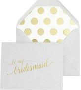 J.Crew Sugar Paper® Be My Bridesmaid card