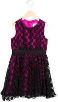 Milly Minis Girls' Polka Dot Tulle Dress