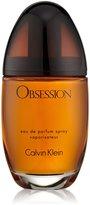 Calvin Klein Obsession by for Women, Eau De Parfum Spray, 3.4 Fluid Ounce