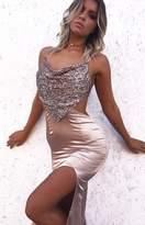 Beginning Boutique Kendall Formal Dress Nude