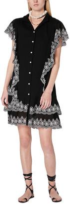 Derek Lam 10 Crosby Kalia Cascade Mini Dress