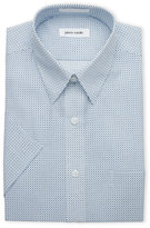 Pierre Cardin Short Sleeved Printed Dress Shirt