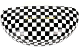 Betsey Johnson Black Buffalo Check Hard Case