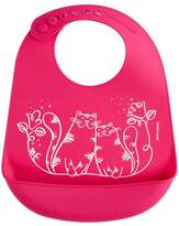 Modern Twist Silicone Kitty Bib