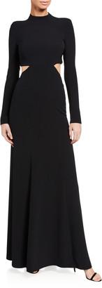 A.L.C. Gabriela Cutout Long-Sleeve Gown