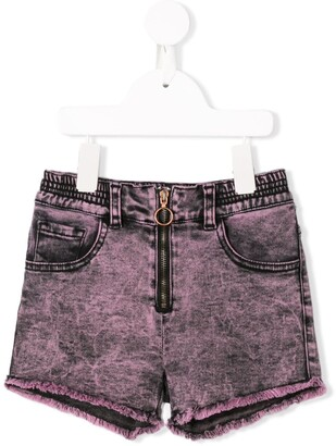 Andorine Zipped Shorts