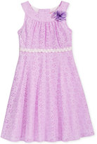 Good Lad Eyelet Fit & Flare Dress, Little Girls (2-6X)