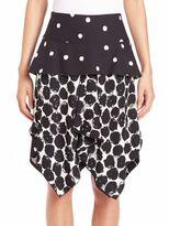 Proenza Schouler Printed Handkerchief Skirt