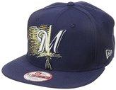 New Era Cap Men's Logo Swipe Milwaukee Brewers Star Wars 9Fifty Snapback Cap