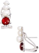 Nadri Brit Pearl Earrings