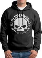 Sarah Men's Harley Davidson Logo Hoodie S