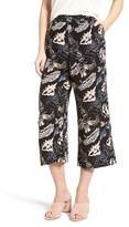 BP Women's Print Crop High Waist Pants