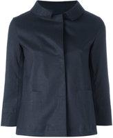 Herno button-down jacket - women - Cotton/Polyurethane - 40