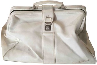 Non Signã© / Unsigned White Leather Travel bags