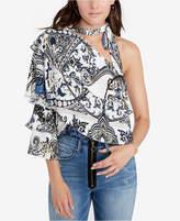 Rachel Roy Tiered One-Shoulder Top, Created for Macy's